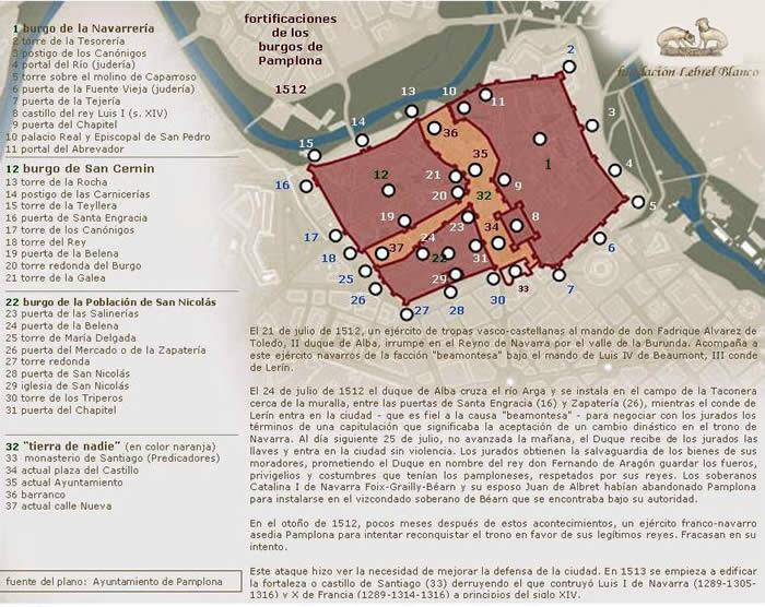 Mapa Pabellones Hospital De Navarra.Atlas Pamplonaeclesiastica Pamplona Htm